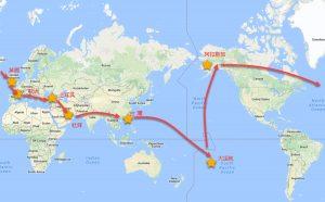 環遊世界100天如何規劃一 ~小資族非背包客玩法