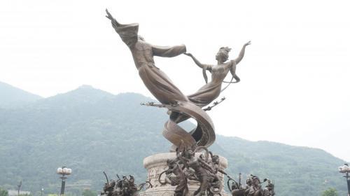 華清宮景區的雕像