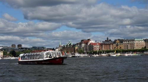 Hop on Hop off Boat(Stockholm-Sweden)