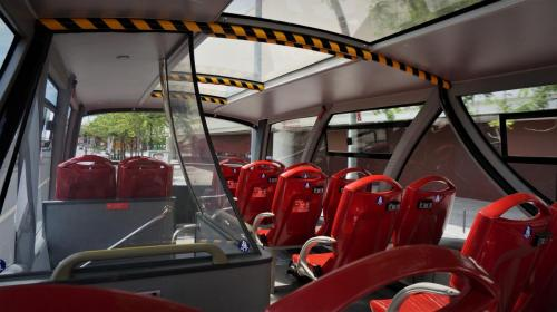 Hop on Hop off Bus(Interior view)